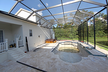 Pool Enclosure Contractor & Aluminum Pool Enclosure